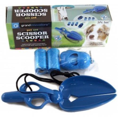 Ножницы совок для уборки собачьих экскрементов Scissor scooper