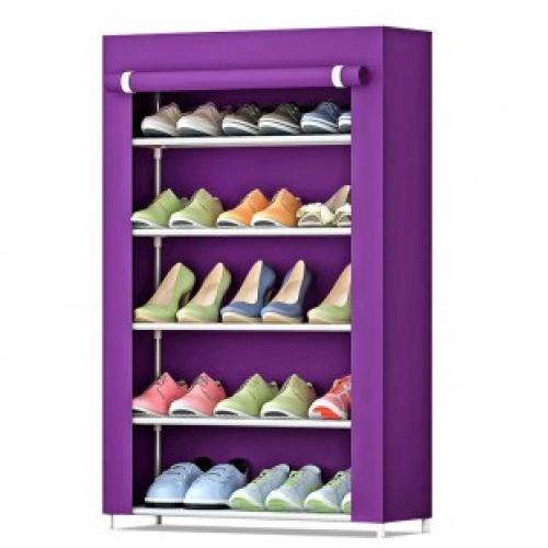 Тканевый стеллаж для обуви Shoe Cabinet