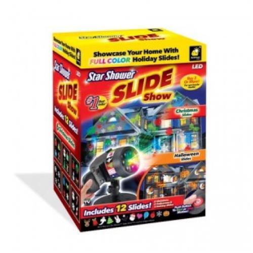 Лазерный проектор slide full color holiday slides