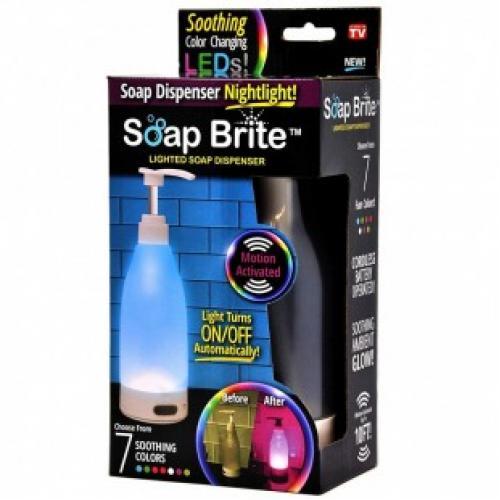 Дозатор для мыла с подсветкой Brite диспенсер