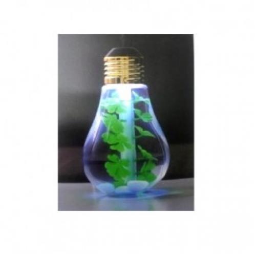 Увлажнитель воздуха - Лампочка украшенная листьями клевера