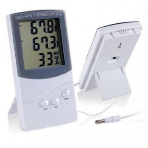 Цифровой термометр с гигрометром KZ-016 TA318