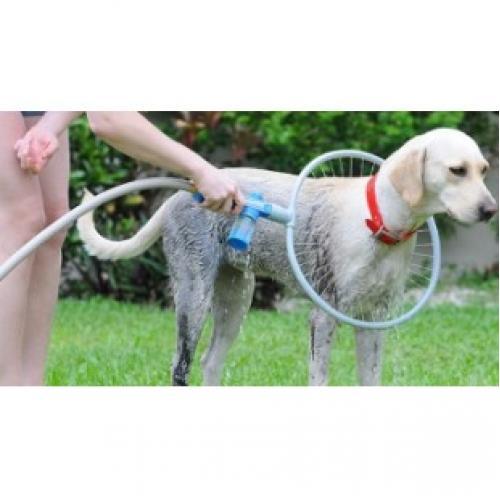 Круговой душ для мытья собак