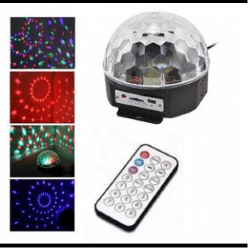 Цифровой Светодиодный Диско Шар Crystal Magic Ball Light