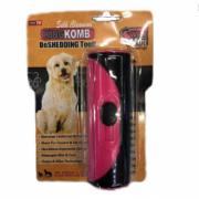 Щетка расческа для собаки KING KOMB deshedding tool