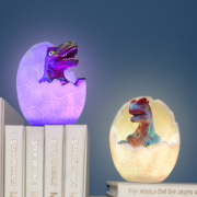 3d светильник ночник динозавр в яйце