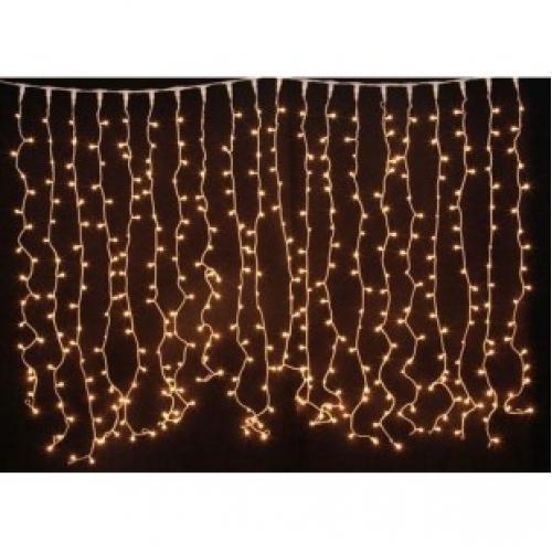 Новогодняя светодиодная гирлянда Бахрома 2 м