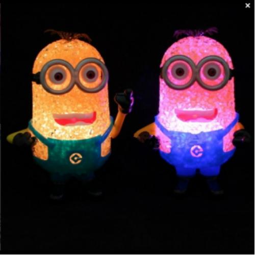 Ночник colorful led lights миньон