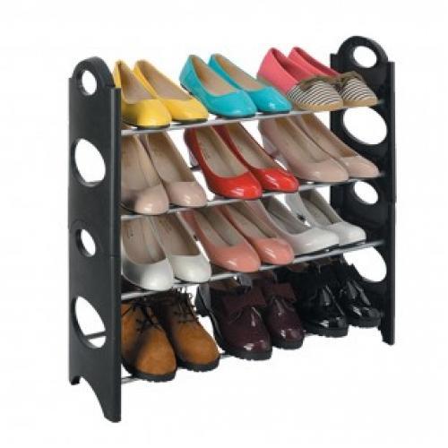 Металлическая складная подставка для обуви