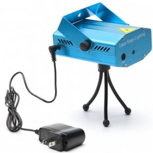 Проектор mini laser stage lighting