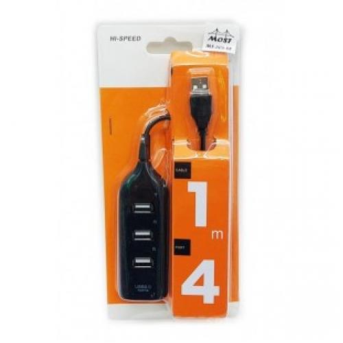USB HUB ХАБ на 4 порта