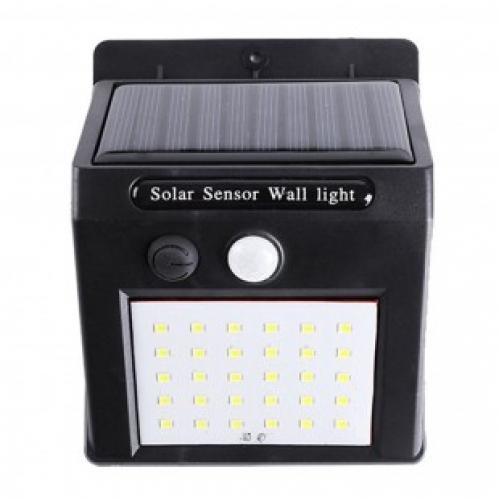 Светодиодный светильник с датчиком движения Solar powered led wall light