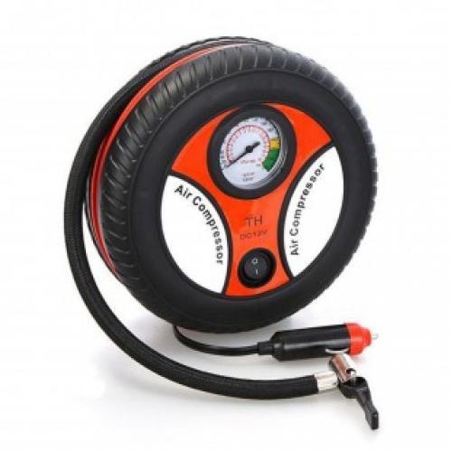 Компрессор для автомобильных шин 260 psi dc 12v