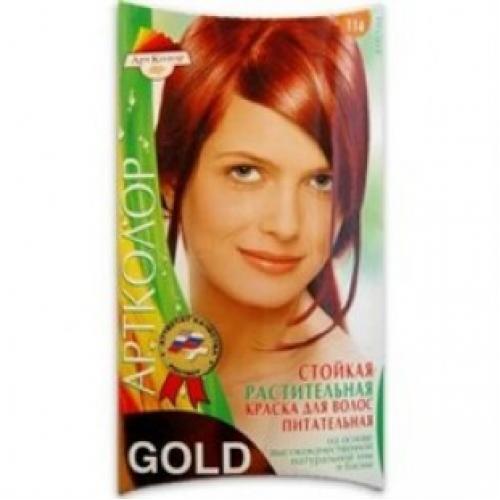 Краска для волос АртКолор Gold 114 Бургунд