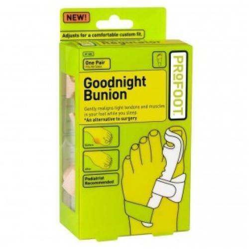Фиксатор - корректор большого пальца ноги Goodnight Bunion