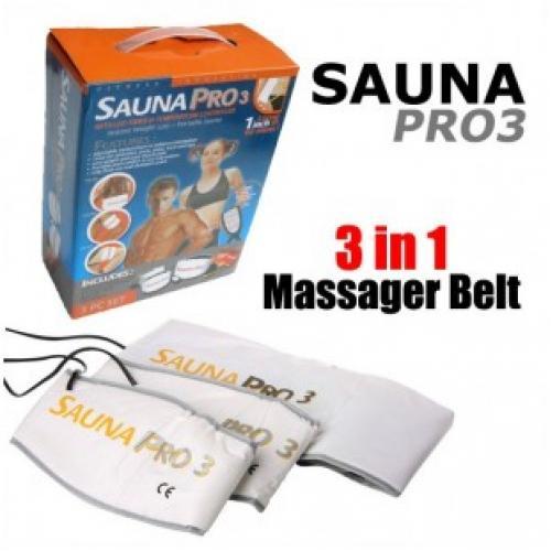 Термопояс для похудения Sauna Pro 3