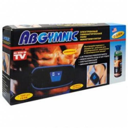 Пояс для похудения AB Gymnic с большой бутылкой геля