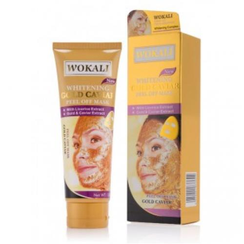 Маска для лица Wokali Gold Caviar