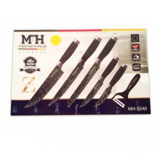 Набор из 6 ножей Meizenhaus MH-5540