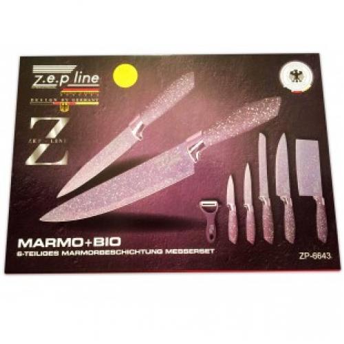 Набор из 6 ножей ZEP line ZP-6643