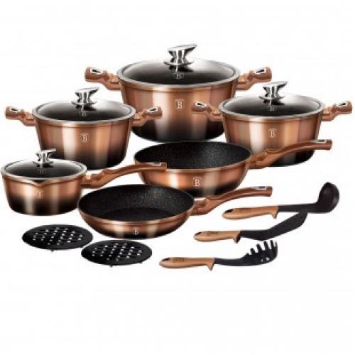 Набор посуды Berlinger House cookware set 15 предметов