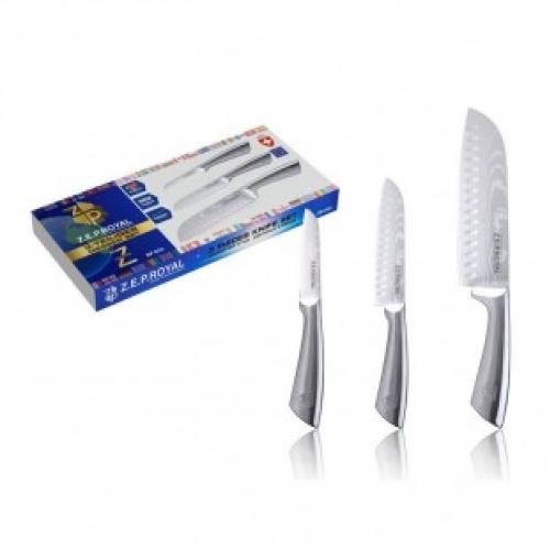 Набор из трех нержавеющих ножей Zep Royal