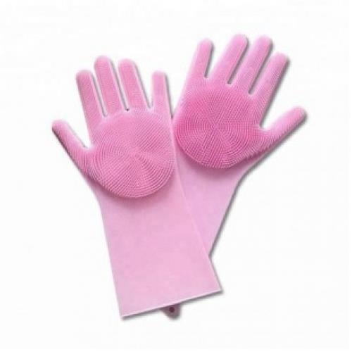 Силиконовые перчатки с шипами