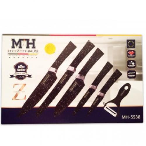 Набор из 6 ножей Meizenhaus MH-5538