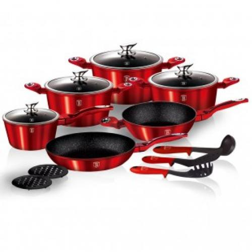 Кухонный набор Berlinger house cookware set 15 предметов