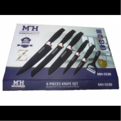 Набор из 6 ножей Meizenhaus MH-5530