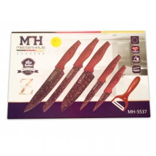 Набор из 6 ножей Meizenhaus MH-5537