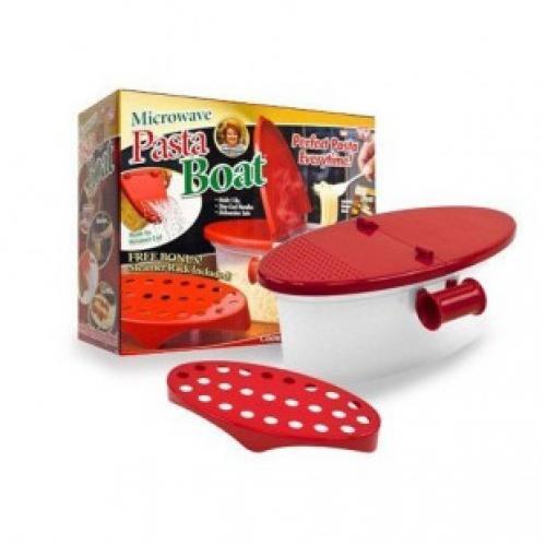 Контейнер для приготовления блюд в микроволновой печи pasta boat microwave