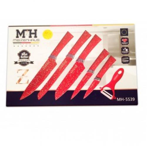 Набор из 6 ножей Meizenhaus MH-5539