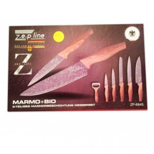 Набор из 6 ножей ZEP line ZP-6645