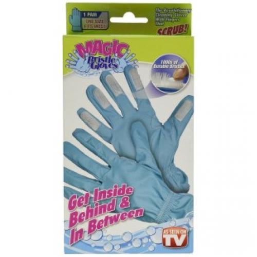 Перчатки - щетка Magic Bristle Gloves