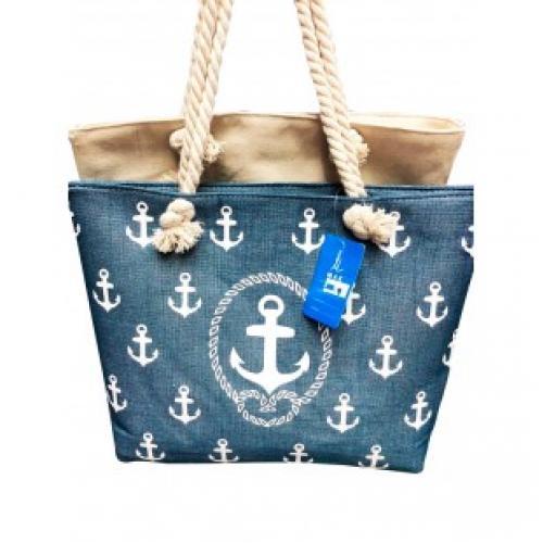 Пляжная сумка Якорь