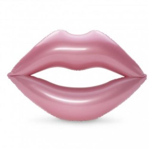 Надувной круг губы