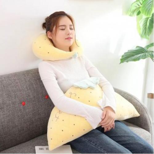 Комплект подушки для шеи фрукты