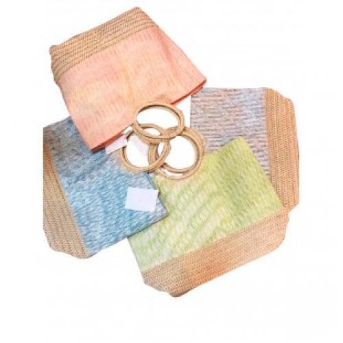 Пляжная сумка плетеная