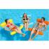 Надувной шезлонг для плавания Floating Bed 130 х 73 см