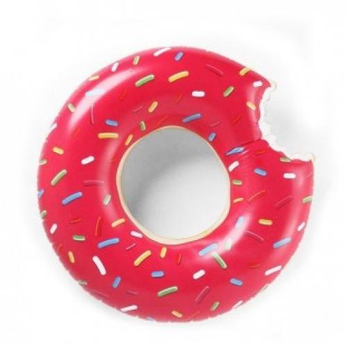 Надувной круг пончик 80 см