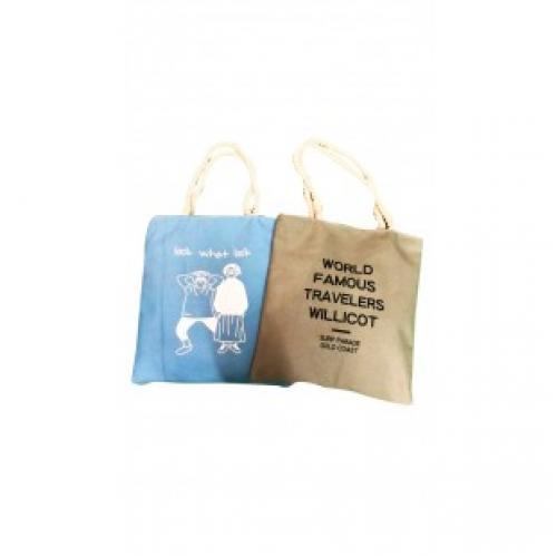 Пляжная сумка на верёвочках