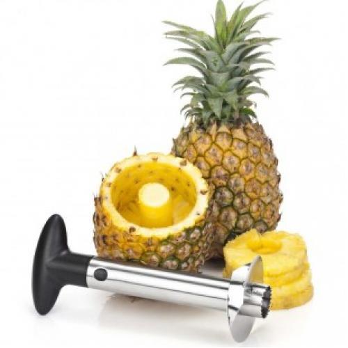 Нож для нарезки ананаса спиралью