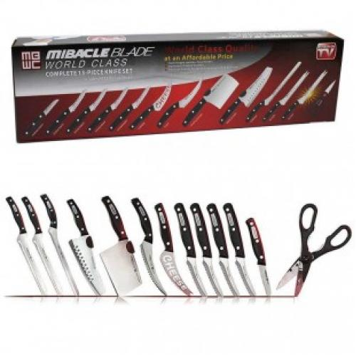 Ножи miracle blade world class набор 13 предметов