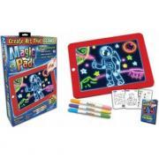 Детский планшет для рисования magic pad deluxe