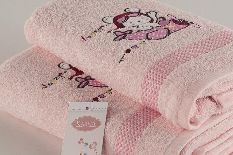 Комплект полотенец детский BAMBINO-SAMALOT 50x70-70х120 см