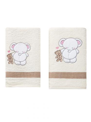 Комплект полотенец детский BAMBINO-SLON 50x70-70х120 см