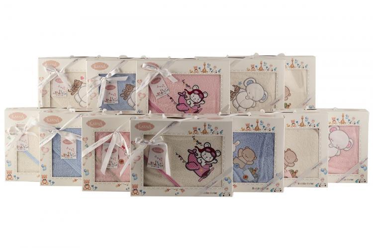 Полотенце-конверт детский BAMBINO-SLON 90x90 1/1