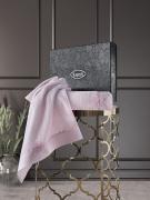 Комплект махровых полотенец с вышивкой SIENA 50x90-70х140 см 1/2