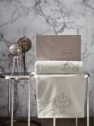 Комплект махровых полотенец AROV 50x90-70х140 см